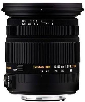 Об'єктив Sigma AF 17-50mm f/2.8 EX DC OS HSM Sony
