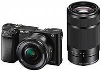 Фотоапарат Sony Alpha A6000 kit (16-50mm + 55-210mm)
