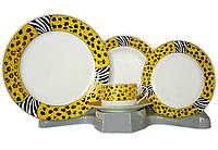 Столовый сервиз Elina Gold 30 предметов на 6 персон