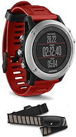 Смарт-годинник Garmin fenix 3 Silver Performer Bundle