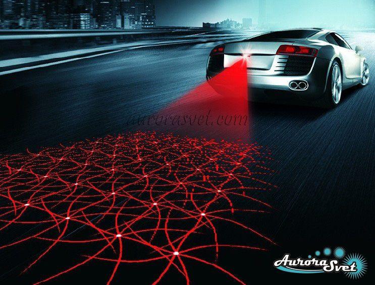 Противотуманный лазер для автомобиля и мотоцикла, габаритный фонарь, стоп сигнал