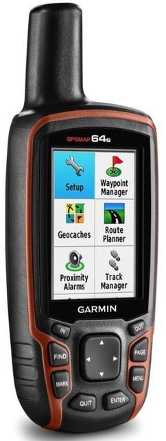 Туристичний GPS-навігатор Garmin GPSMAP 64s (з топографічною картою України)