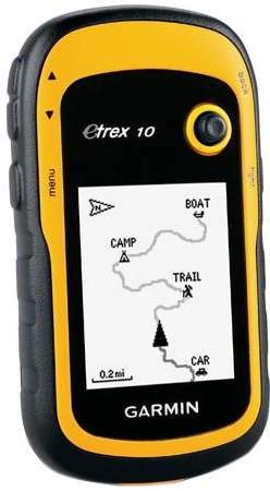 GPS-навігатор Вимірювач площі Garmin eTrex 10