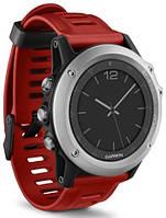 Смарт-годинник Garmin fenix 3 Silver/Red