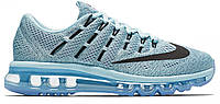 Кроссовки Nike Air Max 2016 Blue Grey Black Ocean Fog, фото 1