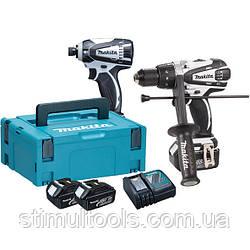 Набор аккумуляторных инструментов Makita DLX2005WJ1