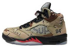 Баскетбольные кроссовки Air Jordan 5 Supreme Camo