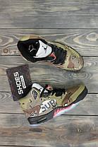 Мужские кроссовки Nike Air Jordan 5 Supreme Camo 824371-201, Найк Аир Джордан 5, фото 3