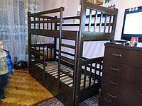 Дитяче двох'ярусне ліжко, фото 1