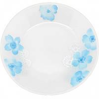 """Набор 6 подставных тарелок """"Блюз"""" Ø23см, стеклокерамика"""