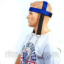 Упряжь для тренировки мышц шеи (неопрен, металл), фото 3