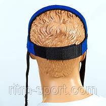 Упряжь для тренировки мышц шеи (неопрен, металл), фото 2