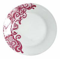 "Набор 6 обеденных тарелок ""Кружево"" Ø22.5см, керамика"