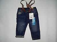 Модные джинсы для малышей с подтяжками LC WAIKIKI