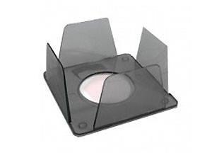 Бокс для бумаги КИП 9*9*4,5 дымчатый, фото 2