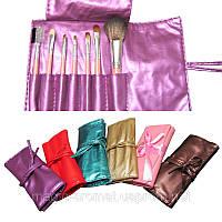 Набір кистей для макіяжу з 7штук, кольору чохлів в асортименті.