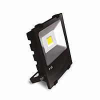EUROELECTRIC LED COB Прожектор с радиатором 50W 6500K modern