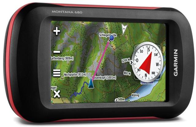 Туристичний GPS-навігатор Garmin Montana 680