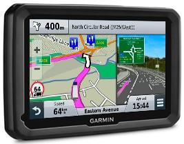 GPS-навігатор для вантажівок Garmin Dezl 770 LMT-D
