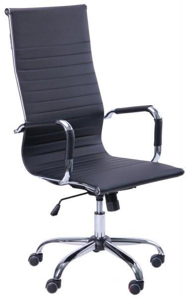 Кресло руководителя Slim (Слим) НВ черное