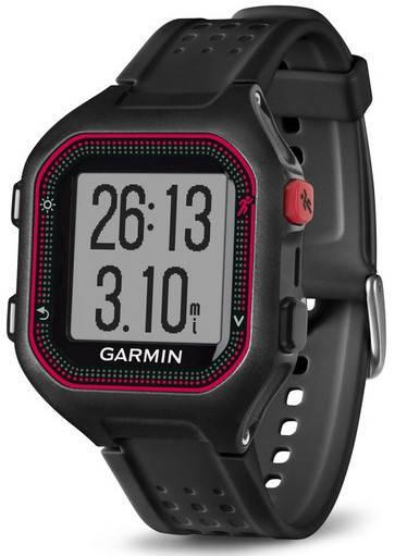 Garmin Forerunner 25 Black Red Large. Спортивний годинник ... bc955807107a2