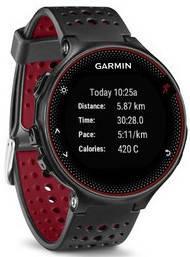 Смарт-годинник Garmin Forerunner 235 Black/Marsala Red, фото 2