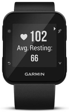 Смарт-годинник Garmin Forerunner 35 Black, фото 2