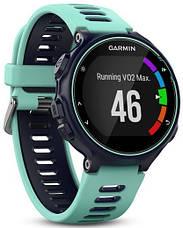 Смарт-годинник Garmin Forerunner 735XT Midnight Blue/Frost Blue, фото 3
