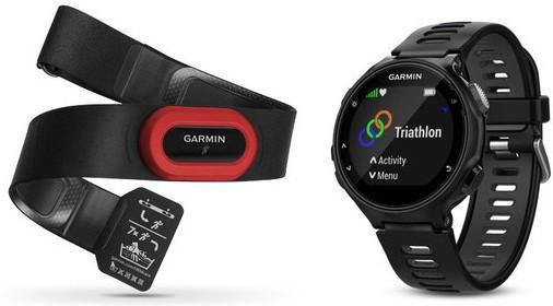 Смарт-годинник Garmin Forerunner 735XT Black/Gray Run Bundle