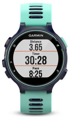 Смарт-годинник Garmin Forerunner 735XT Midnight Blue/Frost Blue Run Bundle, фото 2