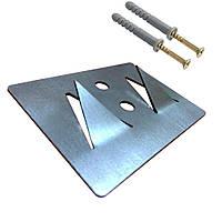 Крепление «Foamfix» для монтажа акустического поролона/акустических панелей.