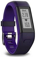 Фітнес-браслет Garmin Vivosmart HR+ Imperial Purple/Kona Purple