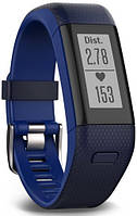 Фітнес-браслет Garmin Vivosmart HR+ Midnight Blue/Bolt Blue