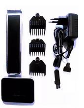 Машинка для стрижки ROZIA HQ-205 с док станцией портативная бритва для волос