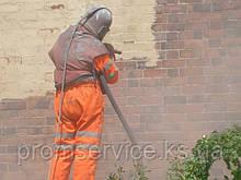 Пескоструйная очистка фасадов