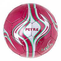 Мяч футбольный 3pl DXN Petra красный