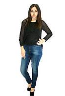 Женские джинсы темно-синие, фото 1