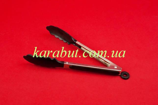Щипцы кухонные силиконовые Дубок L27см, фото 2
