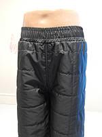 Детские осенние штаны флис 122-140