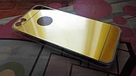 Чехол для iPhone 5 5S SE TPU золотой
