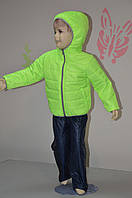 Детская куртка плащевка