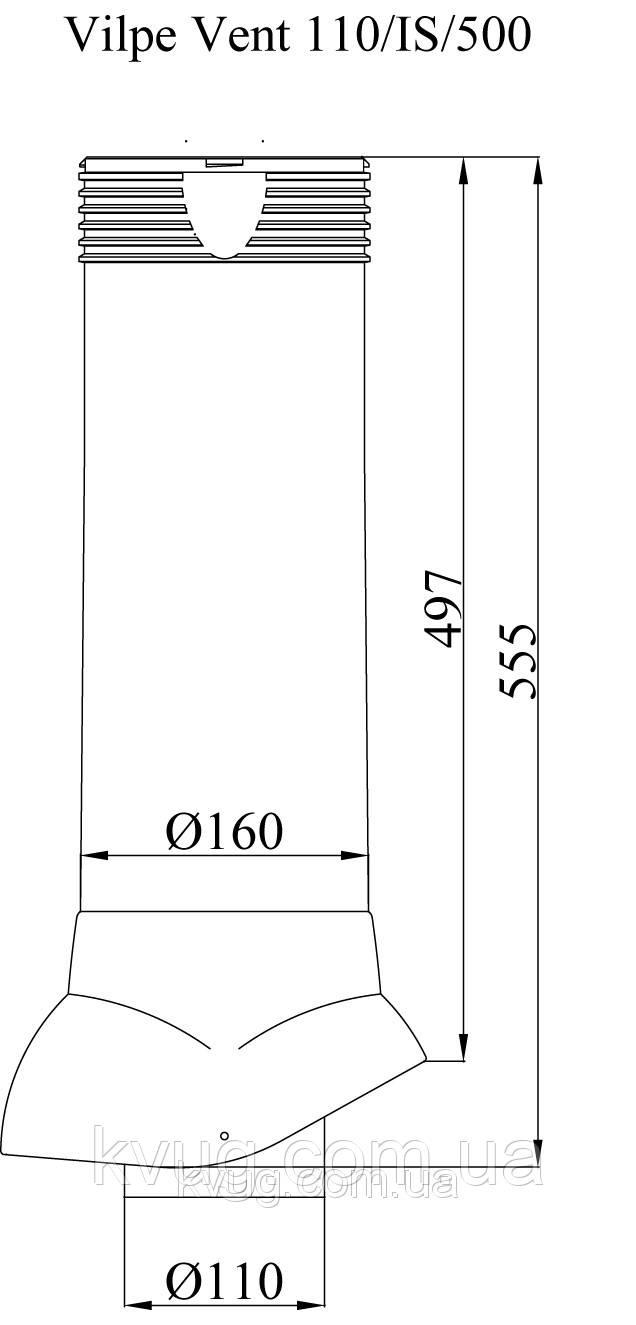 схема vilpe vent 110/is/500