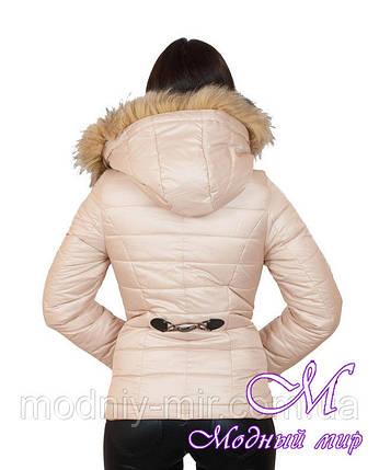 Куртка женская зимняя укороченная (р. 42-56) арт. Наоми, фото 2