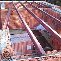 Расчет конструкций металлического перекрытия