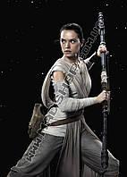 Картина 40х60см Звездные войны Девушка с катаной