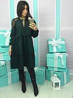 Очень стильное и модное платье в расцветках
