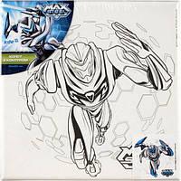 Холст для рисования с контуром Max Steel (Макс Стил) 20х20 см
