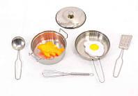Набор посуды 556-4 (144) металлический, в кульке,