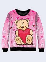 Світшот Тедді з сердцем (унісекс)