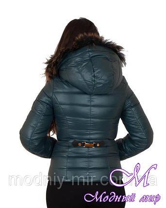 Женская зимняя короткая куртка (р. 42-56) арт. Наоми, фото 2